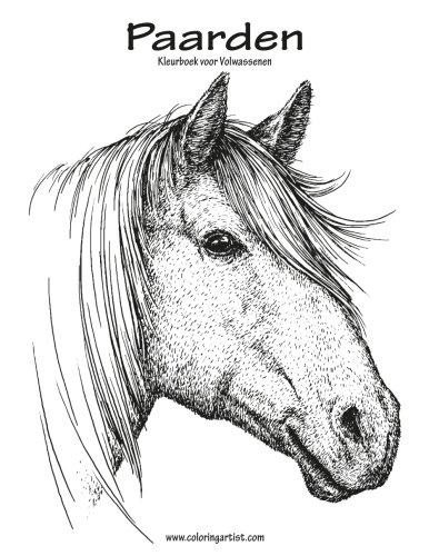 Paarden Kleurboek voor Volwassenen 1 (Volume 1) (Dutch Edition)