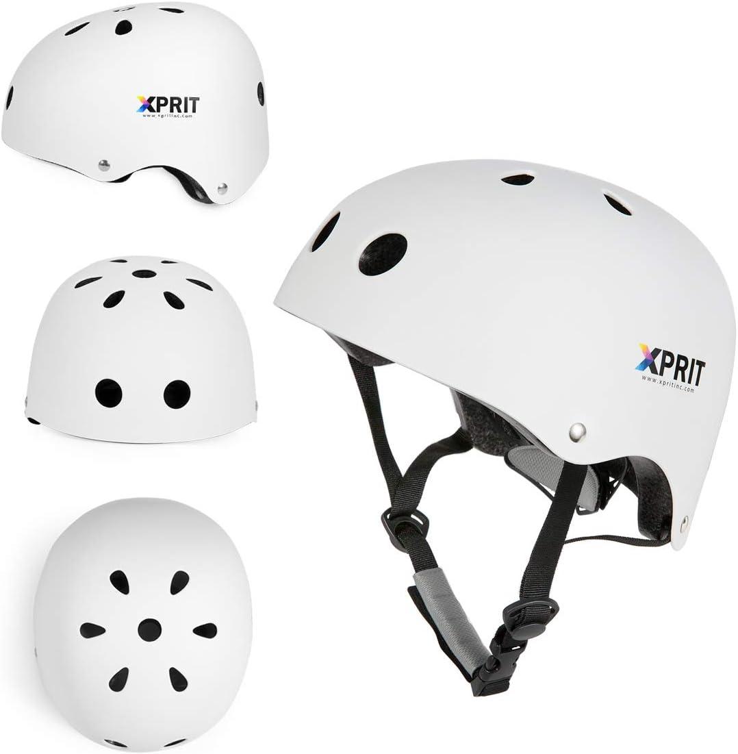 XPRIT Skateboarding, Scooter, Bike, Helmet w Impact Resistance