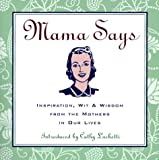 Mama Says, Cathy Luchetti, 0829413421