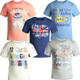 The Beatles Lyrics Boys Girls 5 Pack T-Shirts