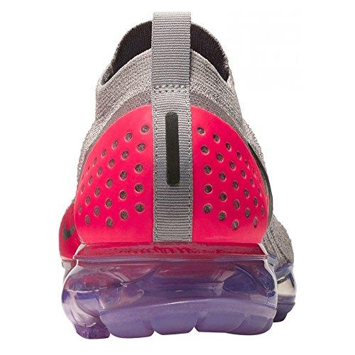 Nike Air Vapormax FK Moc 2, Scarpe da Running Unisex – Adulto Grigio (Moon Particle/Solar Red/Indigo Burst 201)