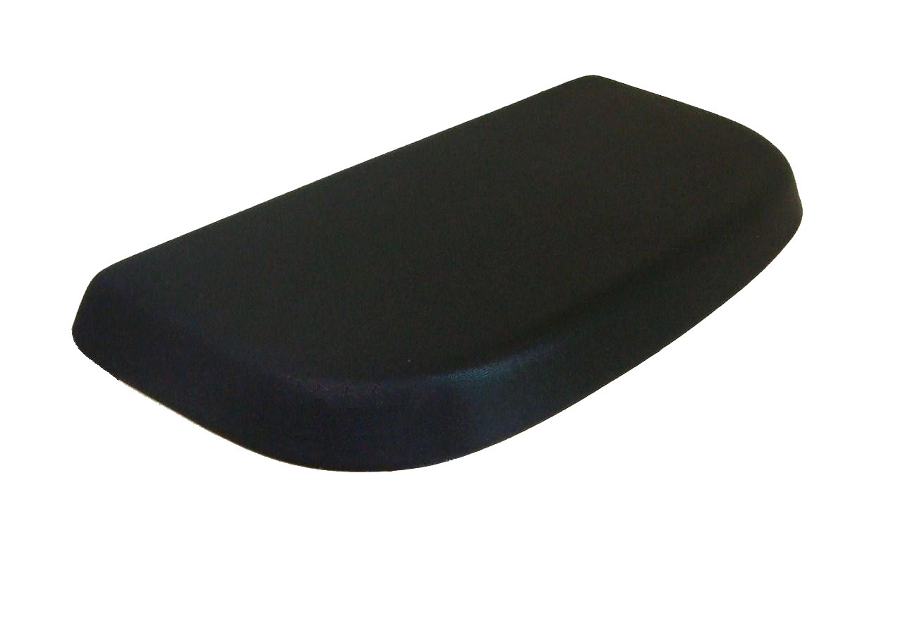 Special Shiny Edition of Fabric Cover for a lid toilet Tank - HandMade in USA (Bright Black)