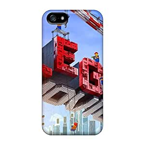 Scratch Resistant Hard Cell-phone Cases For Iphone 5/5s (cth12112JwQk) Provide Private Custom Colorful The Lego Movie Skin