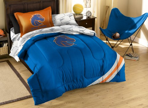 The Northwest Company Officially Licensed NCAA Boise State Broncos Twin Bedding Set
