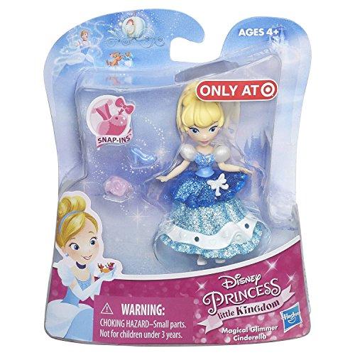 (Cinderella Disney Princess Little Kingdom Magical Glimmer 3 Mini Doll Exclusive)