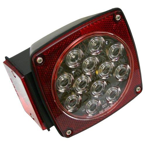 Blazer C583CR Clear Lens LED 7 Function Combo Trailer Stop/Tail/Turn Light - 1-Each
