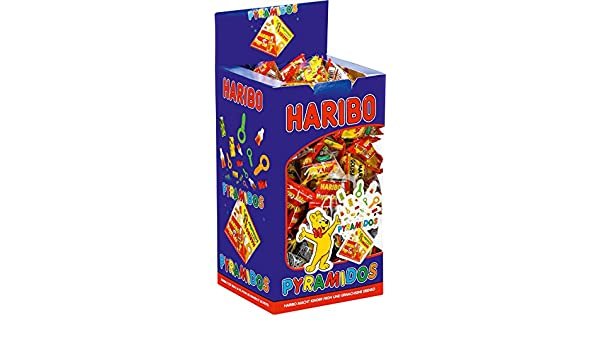 Haribo Golosinas pyramidos, 75 Mini de bolsa en caja VE=1 ...