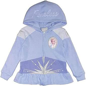 Disney Girls' Frozen Graceful Elsa Hoodie Sweatshirt