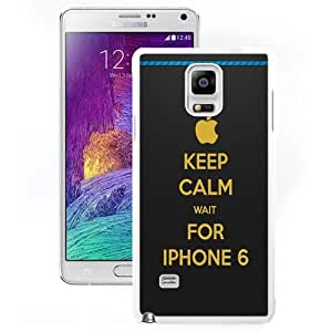 DIY and Fashionable Cell Phone Case Design with Keep Calm Wait For iPhone 6 Loading Bar Galaxy Note 4 Wallpaper in White