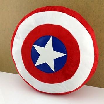 Amazon.com: The Avengers Captain America Shield Throw Pillow ...