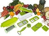 Unique Gadget Nicer Multi Chopper Vegetable Cutter Fruit Slicer Peeler Dicer Plus