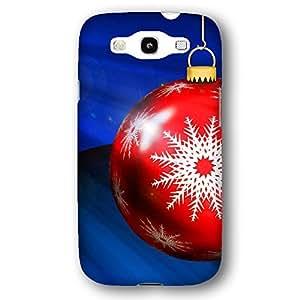 Christmas Ball Ornament and Snowflake Samsung Galaxy S3 Slim Phone Case