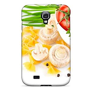 New Arrival Case Cover With DKTaxEl4875zYZdu Design For Galaxy S4- Food Differring Meal Tomatoes by runtopwell