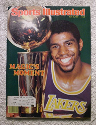 Magic Johnson - Los Angeles Lakers - 1980 NBA World Champions! - Sports Illustrated - May 26, 1980 - Philadelphia 76ers - ()
