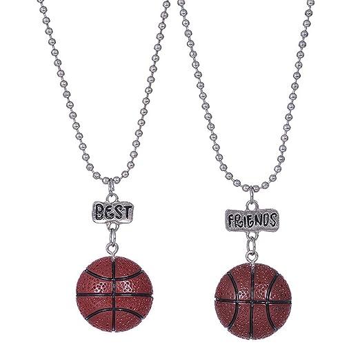 JIFNCR - Collar con Colgante de Baloncesto para cumpleaños, Regalo ...