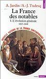 Nouvelle Histoire de la France contemporaine, tome 6 : La France des notables, l'évolution générale, 1815-1848 par Jardin