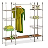 Best Closet Systems - Honey-Can-Do WRD-02350 Freestanding Steel Closet System with Basket Review