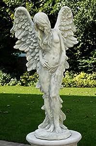 Jardín Figura, piedra Figura fiammella H 130, gris