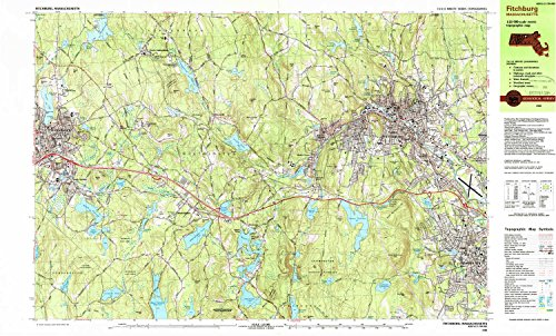 Hill Rollstone (YellowMaps Fitchburg MA topo map, 1:25000 Scale, 7.5 X 15 Minute, Historical, 1988, Updated 1988, 24 x 39.8 in - Tyvek)