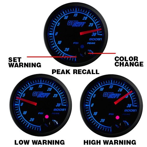 5170Jg2iR8L amazon com glowshift elite 10 color 60 psi electronic boost gauge  at couponss.co