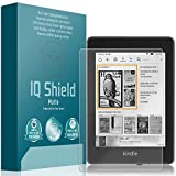 IQShield Amazon Kindle Paperwhite Screen Protector, Matte Full Coverage Anti-Glare Screen Protector for Amazon Kindle Paperwhite (2018, 6') Bubble-Free Film
