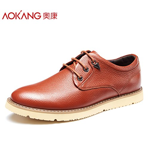 Aemember Autunno Scarpe Uomo quotidianamente le scarpe per il tempo libero degli uomini Scarpe Casual Calzature uomo uomini e ,40, tute rosso marrone 173211432