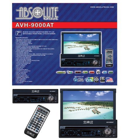 absolute-avh-9000at-7-inch-in-dash-multimedia-touch-screen-system-with-bluetooth-analog-tv-tuner-and