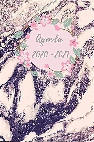 Agenda 2020 2021: Agenda giornaliera 12 mesi, Diario scolastico