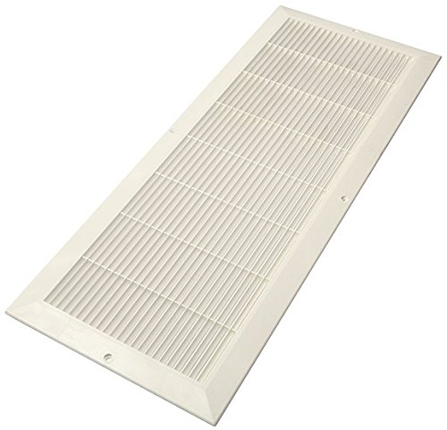 Air Wh Return (Decor Grates PL824-WH 8-Inch by 24-Inch Cold Air Return, White)