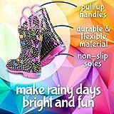 ZOOGS Children's Rain Boots Handles, Little Kids