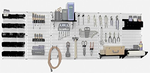 Wall Control 30-WRK-800WB Master Workbench Metal Pegboard Tool Organizer by Wall Control (Image #2)