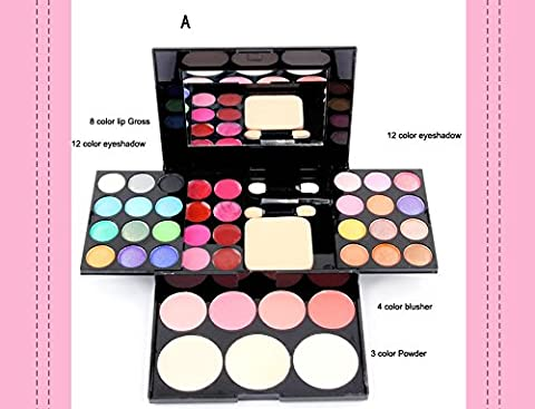New Makeup Palette 39 Colors Eyeshadow With Eye Primer Luminous Eye shadow Palette Band Makeup (Nine Naturals Conditioner)