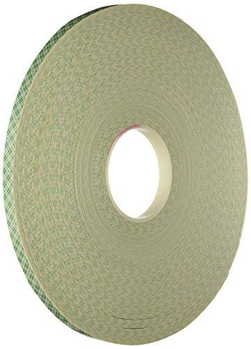 (3M 4032 Natural Polyurethane Double Coated Foam Tape, 0.5