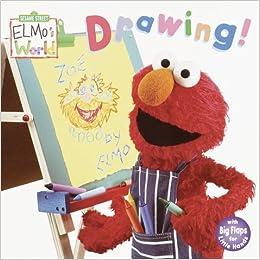 Elmo S World Drawing Sesame Street Elmo S World Amazon