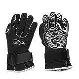 1Pair/Set Water Sports Gloves, 4 Sizes Scuba Diving Neoprene Gloves for Snorkeling Kayaking Surfing Water Sports