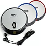 Naxa NX319 Slim Personal Compact Disc Player (Silver)