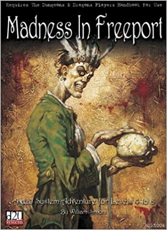 Cover of Madness in Freeport