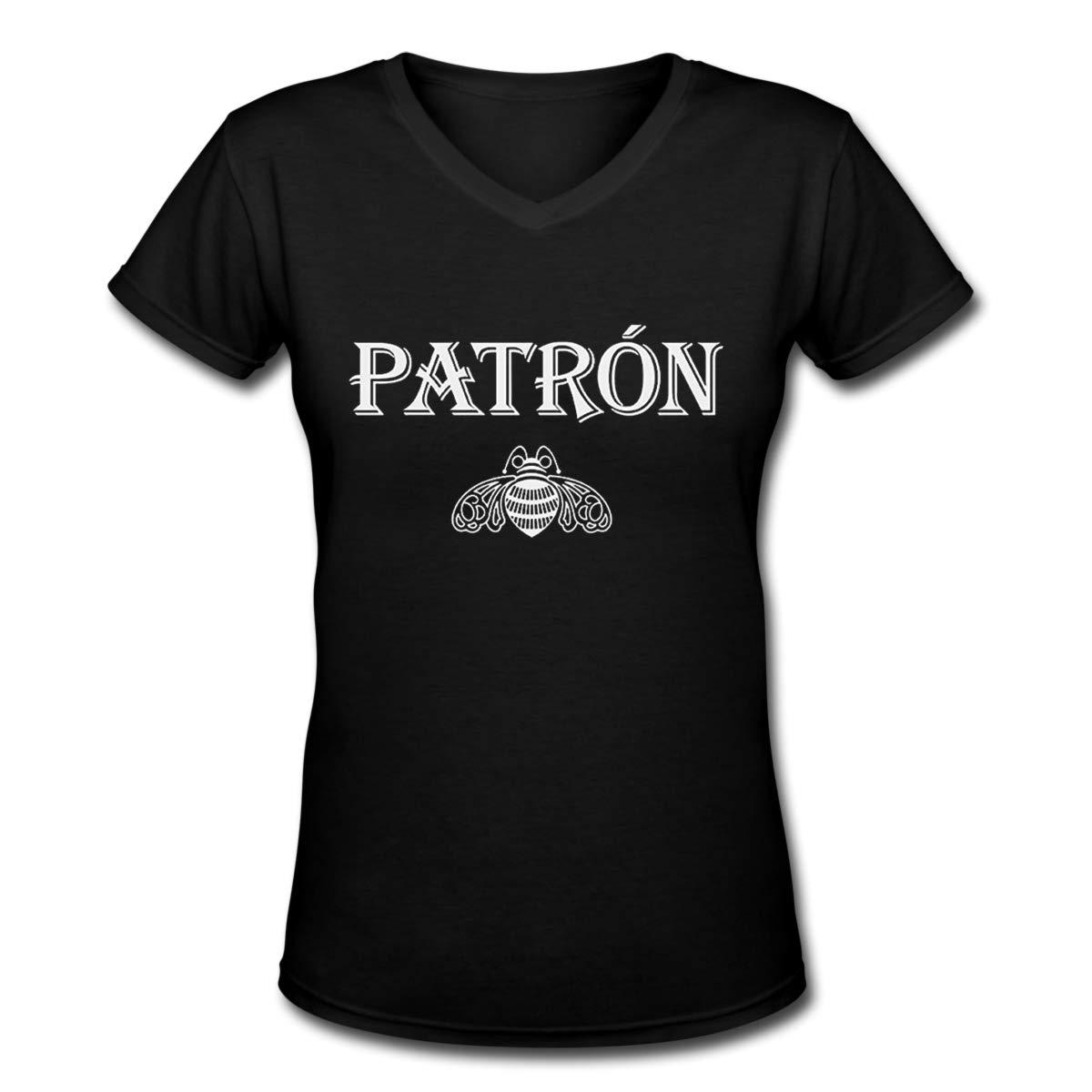 Jadespon Leisure Patron Tequila Logo Funny Tshirt For