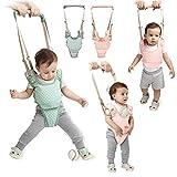 Handheld Baby Walker Kids Toddler Walking Baby Toys Adjusted Baby Learning Walker Harness Keeper Walking Belt Walk Assistant,Great Gift for 7-24 Months Baby (Pink)