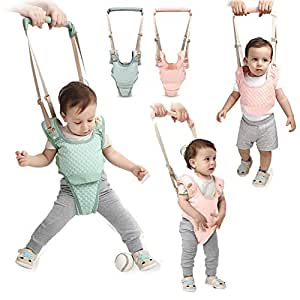 Handheld Baby Walker Kids Toddler Walking Baby Toys Adjusted Baby Learning Walker Harness Keeper Walking Belt Walk Assistant,Great Gift for 7-24 ...