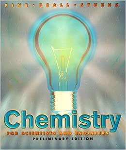 Book Chemistry for Scientists and Engineers (Saunders Golden Sunburst Series)