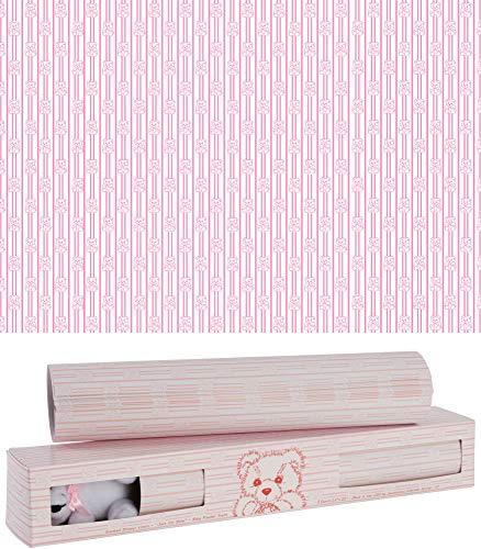 "Scentennials Baby Original Pink with Teddy Bear (8 Sheets) Scented Fragrant Shelf & Drawer Liners 13"" x 22"" - Great for Nursery Dresser, Bathroom, Vanity & Linen Closet"