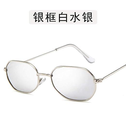 Yangjing-hl Gafas Gafas Montura Metal Ojo Metal Montura ...