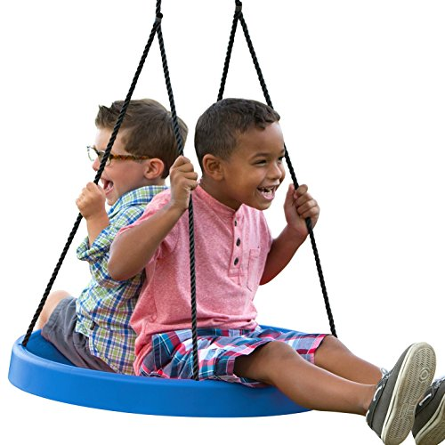 Super Spinner Swing--Fun, Easy to Install on Swing Set or Tree! (Tire Swing To Hang From A Tree)