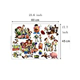 Peel and Stick Wall Decals Stickers for Children & Kids & Baby & Nursery Wall Art Room Decor (Toy Story 3)