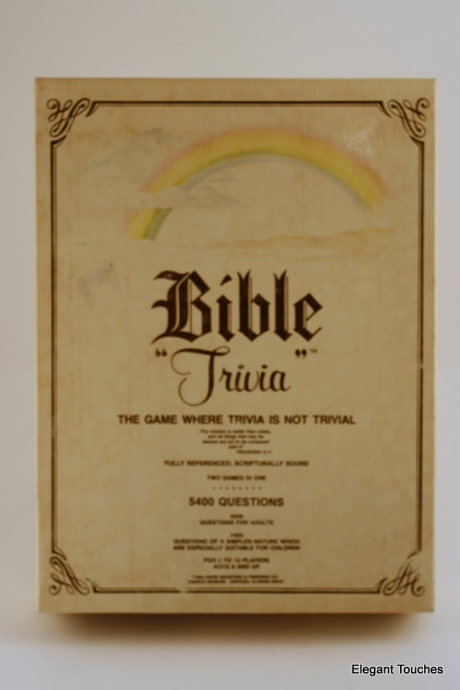 Bible Trivia: The Game Where Trivia Is Not Trivial by Bible Trivia