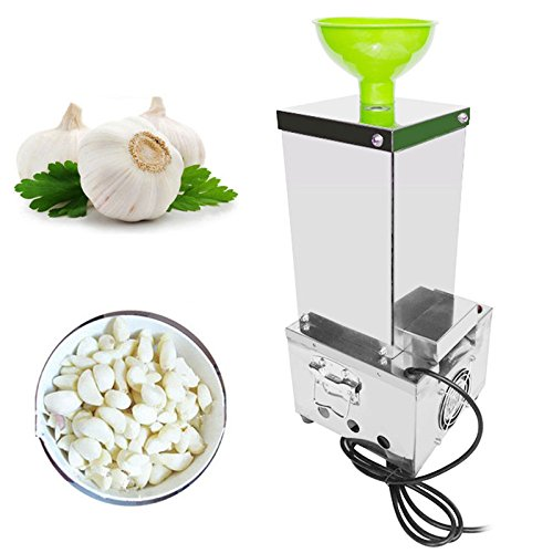 Garlic Peeling Machine Electric Garlic Peeler 110V Household and Commercial DRY by Home Garden Tools