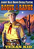Brown, Johnny Mack Double Feature: Rogue Of The Range (1936) / Texas Kid (1943)