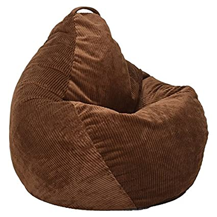 6e71a4f065e6 Image Unavailable. Image not available for. Color  Ace Casual 1088101  Casual Corduroy Teardrop Bean Bag ...