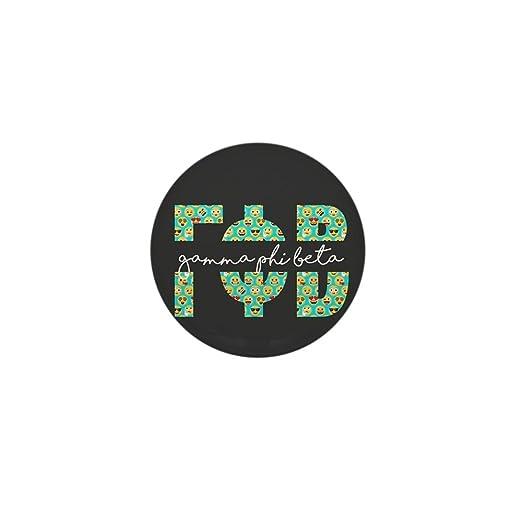 2658261c400 Amazon.com: CafePress Gamma Phi Beta Letters Emoji 1